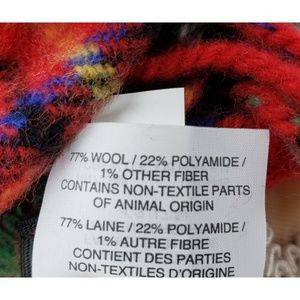 J. Crew Accessories - J. CREW | Reversible Wool Blend Tartan Scarf - NWT